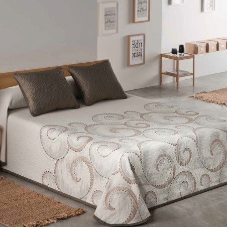 Dvipusis lovos užtiesalas...